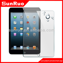 9H water proof tempered glass screen protector ipad mini with good transparency