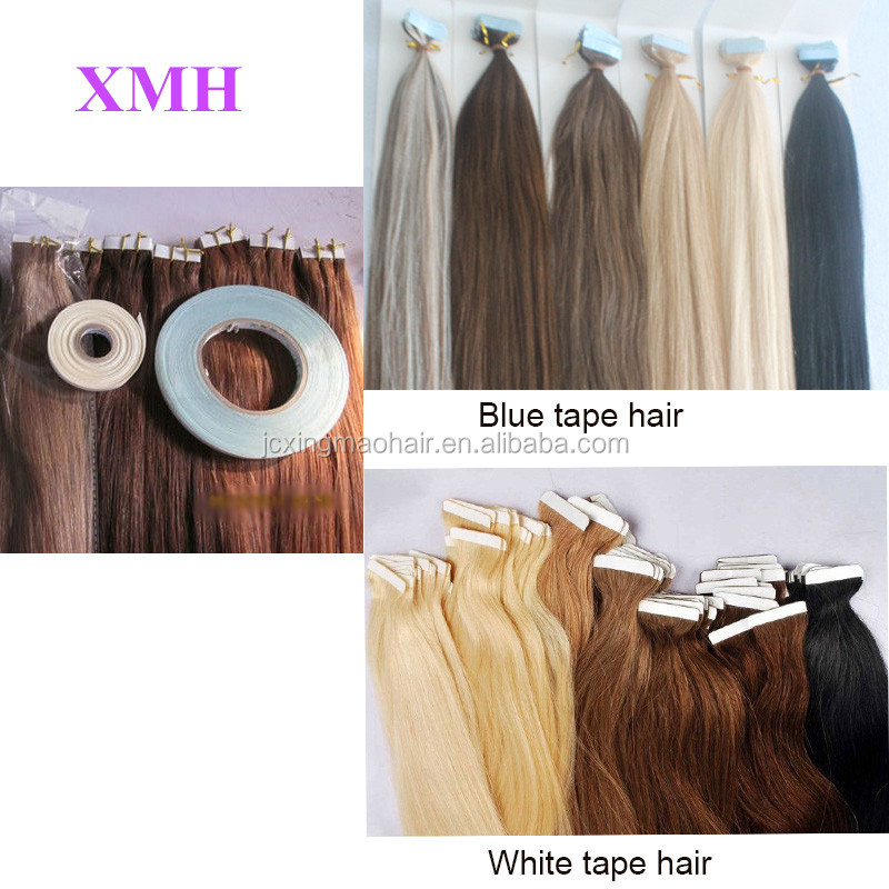 Best Selling High Quality Ash Blonde PU Tape Hair Extensions 100% Remy Human Hair