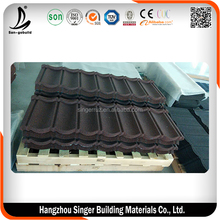 Chinese classical roof shingle for modern style building Good Price Galvalume Metal Roofing