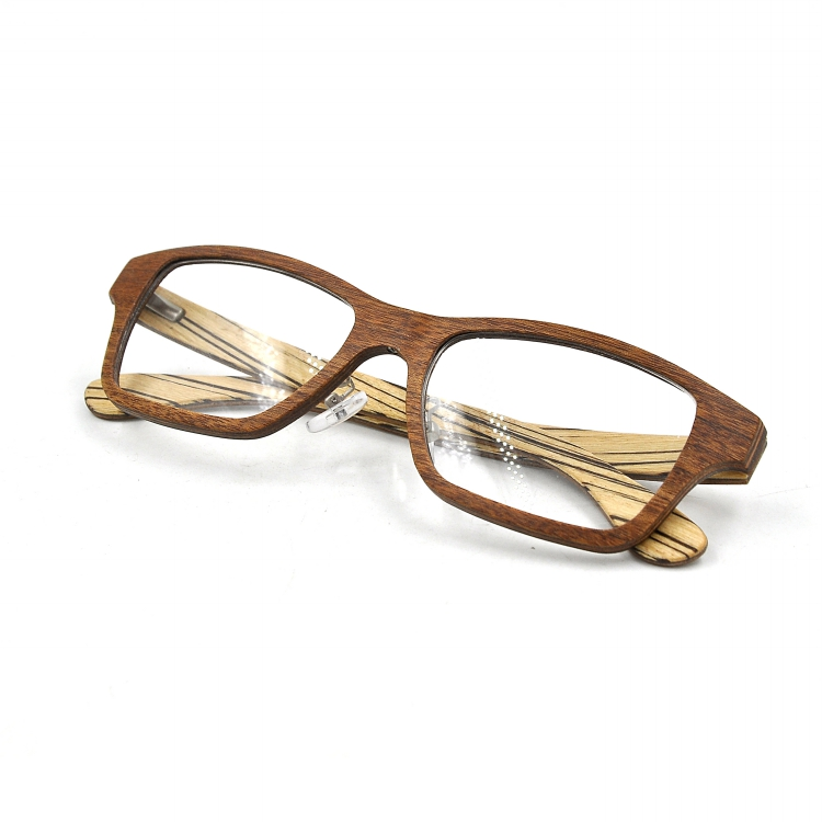 eye glasses frames Environment Friendly bamboo glasses recyclable wood eyewear