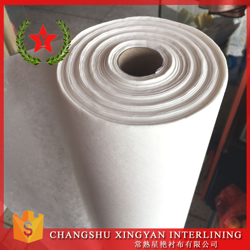 non woven fabric for embroidery backing