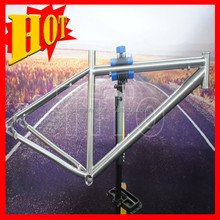 2015 new style hot selling Titanium mountain bike frame full suspension