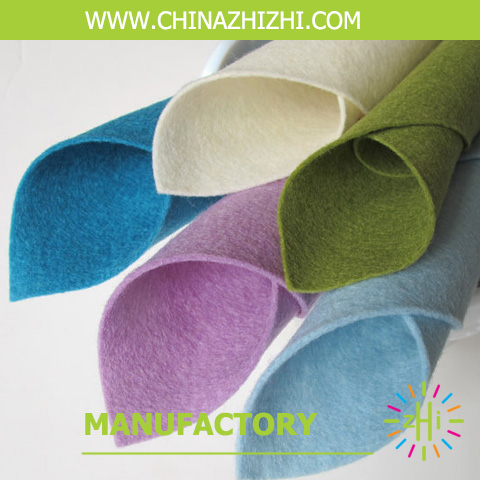 Factory price Direct Selling 1mm,3mm Thick Felt In Rolls Fabric from shanghai