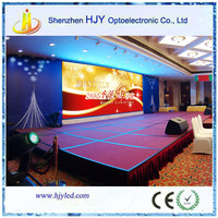 cheap price P10 indoor stage background led display big screen