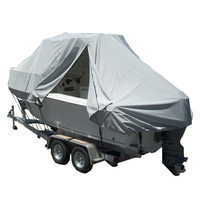 300 Denier Waterproof Customized Breathable Marine-guard T-top Boat Cover