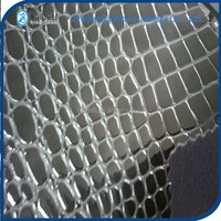 Baideli leather high quality crocodile design pvc vinyl fabric faux leather