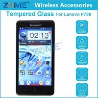 Mobile Phone Shenzhen 0.3mm thick Premium Screen Protector For Lenovo P780 film Cover Tempered Glass