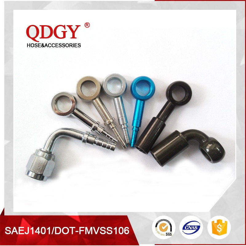 DOT approved banjo brake fittings