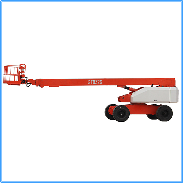 26M telescopic aerial work platform/small boom lifts/ elevator
