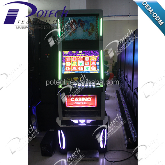 Hot sale 22 inch luxious game cabinet slot machine
