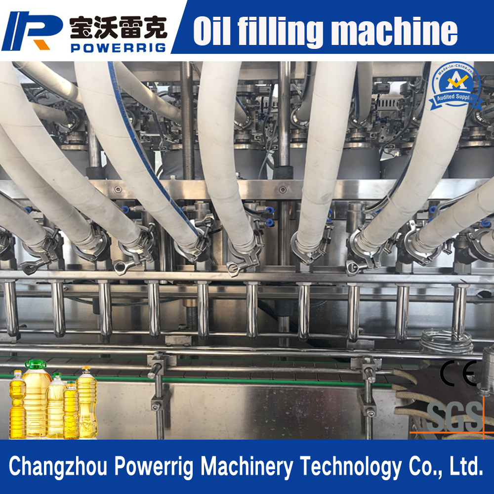 Automatic servo motor control hydraulic oil and diesel oil filling capping machine production line for lube oil