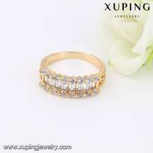 14026- Xuping Jewelry Fashion 18K Gold Plated Woman Rings