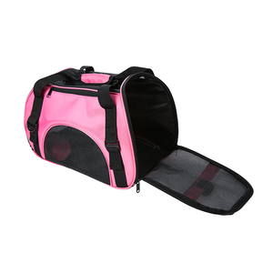Small MOQ Outdoor Oxford Soft-Sided Travel Pet Carrier Bag