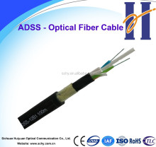 Cables electric power cable -ADSS self-supporting 96 core fiber optical cable
