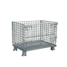 industrial warehouse metal wire mesh storage cage for cylinder products