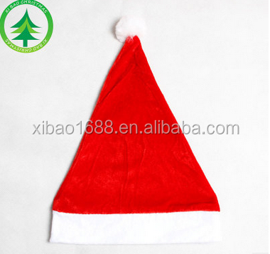 Xibao brand christmas hat red santa hat christmas hat for adult