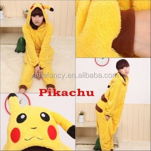Plush adult animal onesie dog pajamas QWAO-0102