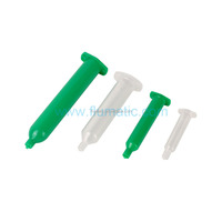 Japan(IEI) type liquid dispenser syringe, adhensvie plastic dispensing syringe