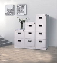 Used wrought iron cupboard metal 2/3/4 drawer vertical filing cabinets
