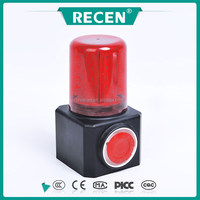IP65 26*0.2W Sound and light warning lights light and horn alarm