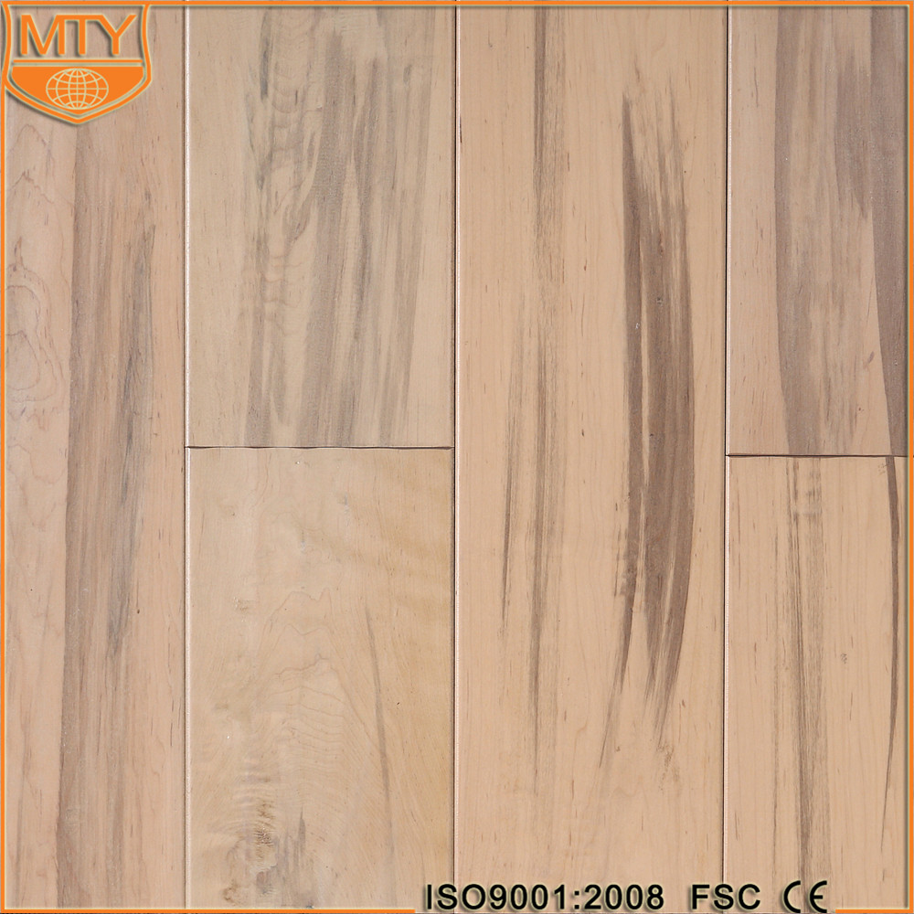 S-8 High Quality Hand Scraped Hardwood Timber Flooring