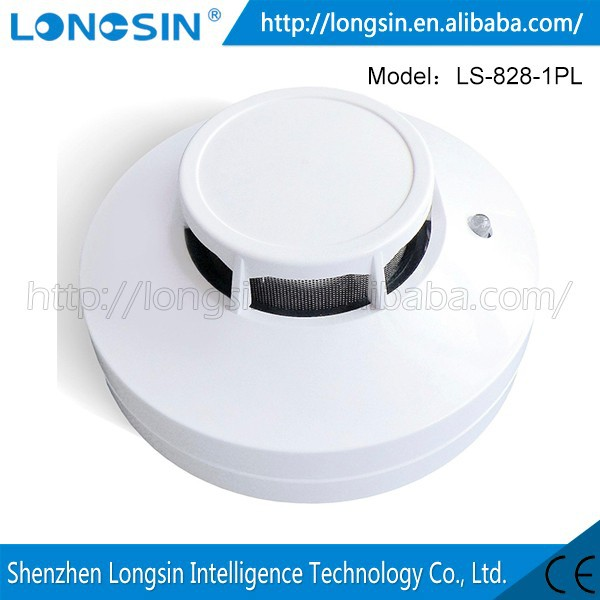 Functional Wireless Vibration And Magnetic Alarm Detector 'Ul Cigarette Smoke Detector