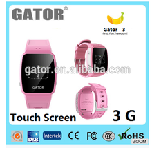 2017 Gator most valuable sos panic button smart kids gps watch phone -caref2 watch