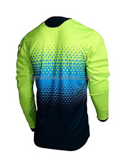 Custom colorful design bmx jerseys professional downhill free ride jersey,sublimation MTB jersey