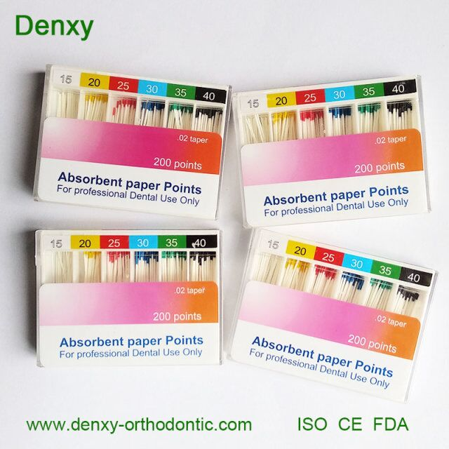 Denxy Dental Protaper PP Points Absorbent Paper Points