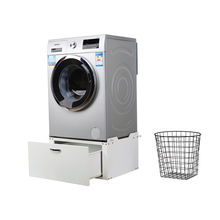 Home convenient Not swinging lowes base cabinets washing machine cabinet with drawer