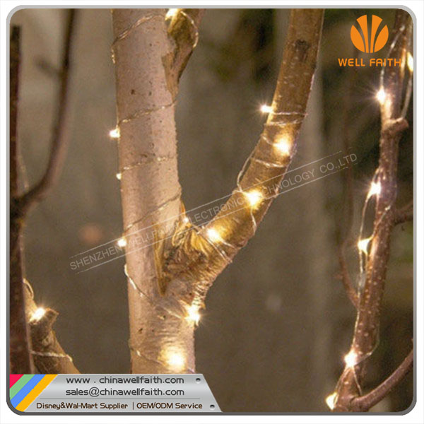 110V/220V Voltage and Christmas Holiday Name UL CE Holiday Rice String Light