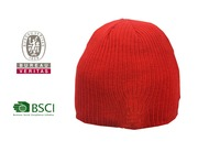 Wholesale custom knitted winter hat with led