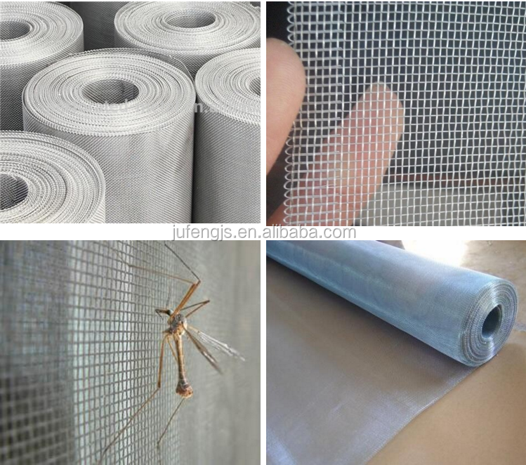 Insect proof aluminum mosquito screen