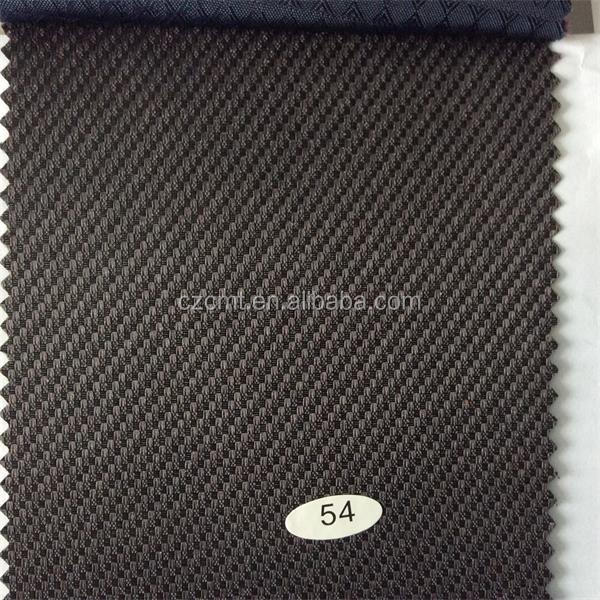 CMT polyester oxford fabric 420D small straw mat jacquard with PVC/PU coated