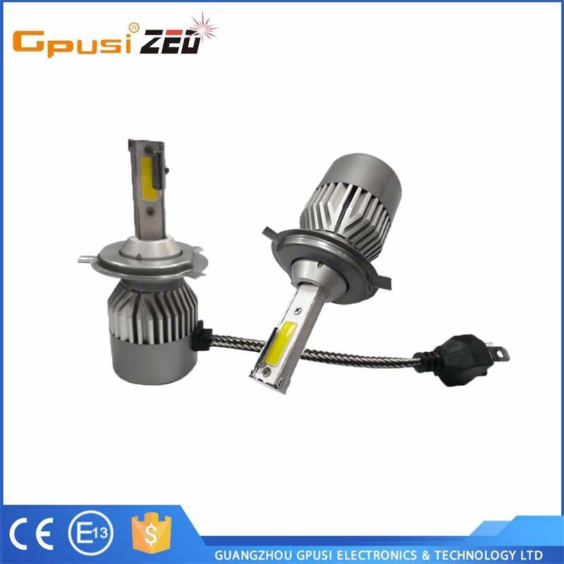Truck Parts Newest 6th g led headlight h4 bulbs H/L beam car h4 led headlight bulbs H4 Headlamp Led H13 Led for truck auto