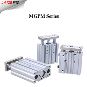 SMC Type MGPM Series Compact Guide Three Rod Air cylinder