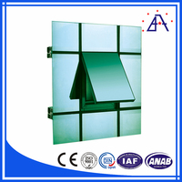 Aluminum Extruded Profiles Outside Building Finishing Materials