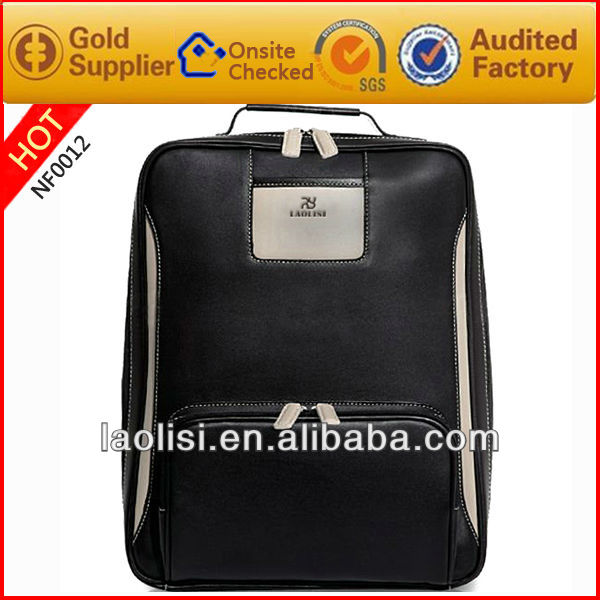 Alibaba manufactory 2017 newest men leather backpack wholesale man bags fashion high-quality leather shoulder bag made in China