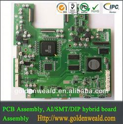 professional oem pcba 1 oz copper thickness pcb assembly manufacturer with Buried vias power bank pcba