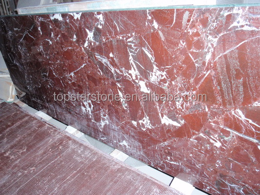TOPSTAR Polished Red Roso Levanto Marble