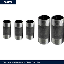 Schedule 80 carbon steel pipe fittings 2 inch long nipples