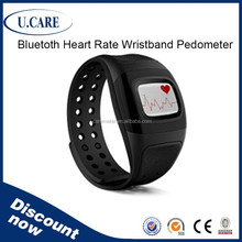 Factory promotion bluetooth smart calorie counter heart rate monitor sport watch