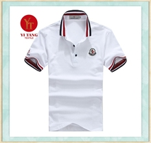 2015 fashion 200 gsm polo t-shirt in factory price