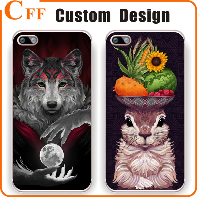 Eco-friendly Plastic PC Material Designer Phone Case for iphone 6 6s 5 5s SE 7 Mobile Phone Cover for iPhone