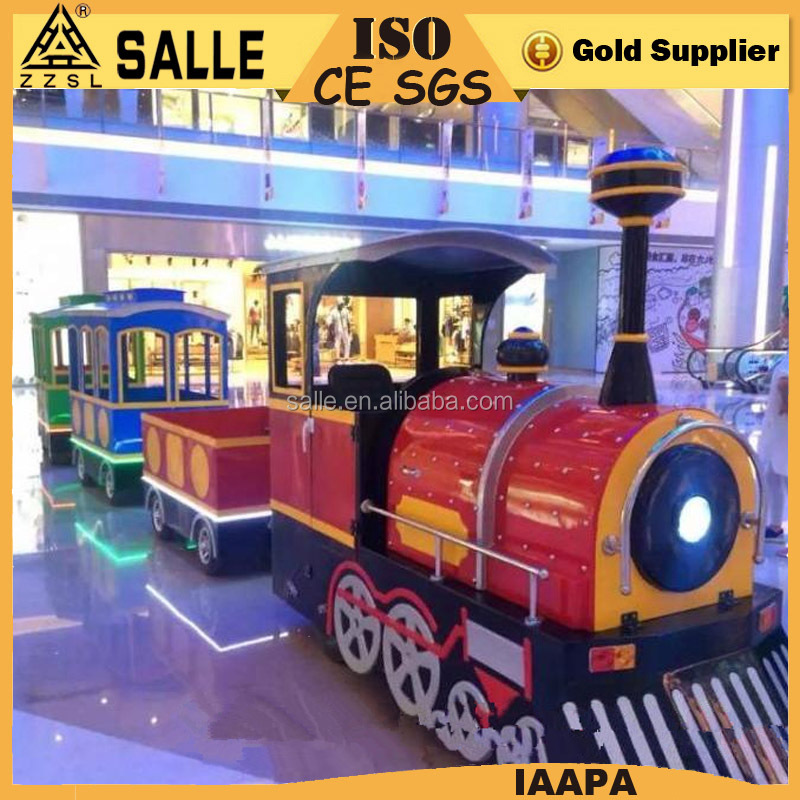 Small Amusement Park Trains For Sale electric trackless steam mini train rides for kids