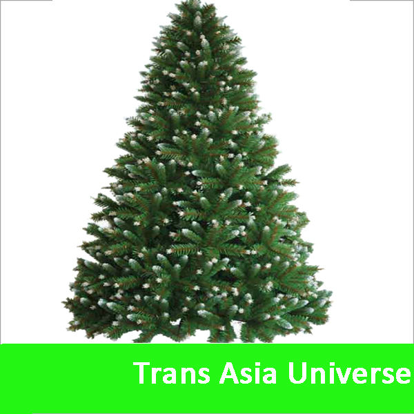 Hot Sell artificial 11ft spiral christmas tree