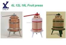 6L 12L 18L manual cider apple fruit press