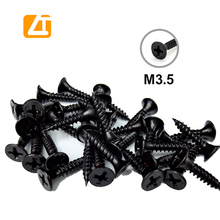 M5 <strong>Black</strong> oxide hex socket cap head self tapping <strong>screw</strong> for wood