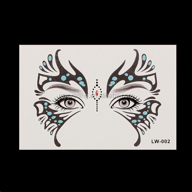 face mask temporary tattoo stickers buy face mask tattoo