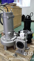 CP Submersible sump pump double channel impeller for industrial wastewater treatment